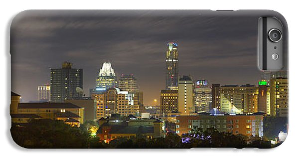 Panorama Of The Austin Skyline On A September Morning IPhone 6s Plus Case by Rob Greebon