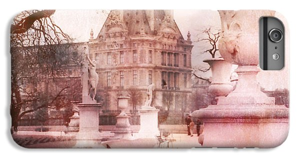 Paris Tuileries Park Garden - Jardin Des Tuileries Garden - Paris Tuileries Louvre Garden Sculpture IPhone 6s Plus Case by Kathy Fornal