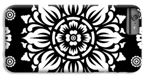 Pattern Art 01-1 IPhone 6s Plus Case by Bobbi Freelance