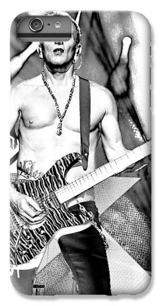 Phil Collen With Def Leppard IPhone 6s Plus Case by David Patterson
