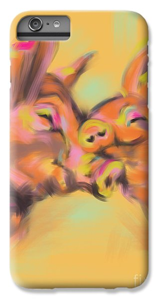Piggy Love IPhone 6s Plus Case by Go Van Kampen