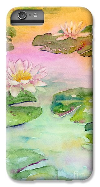 Pink Pond IPhone 6s Plus Case by Amy Kirkpatrick