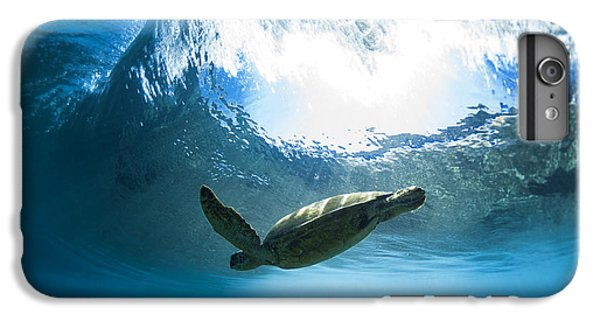 Pipe Turtle Glide IPhone 6s Plus Case by Sean Davey