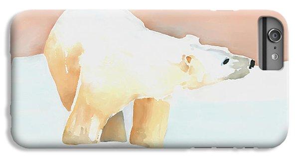 Polar Bear IPhone 6s Plus Case by Arline Wagner
