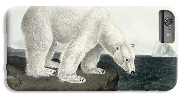 Polar Bear IPhone 6s Plus Case by John James Audubon