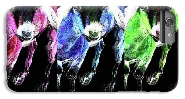 Pop Art Goats Trio - Sharon Cummings IPhone 6s Plus Case by Sharon Cummings