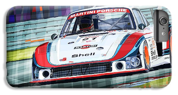 Porsche 935 Coupe Moby Dick Martini Racing Team IPhone 6s Plus Case by Yuriy  Shevchuk