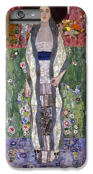 Portrait Of Adele Bloch-bauer II IPhone 6s Plus Case by Gustav Klimt