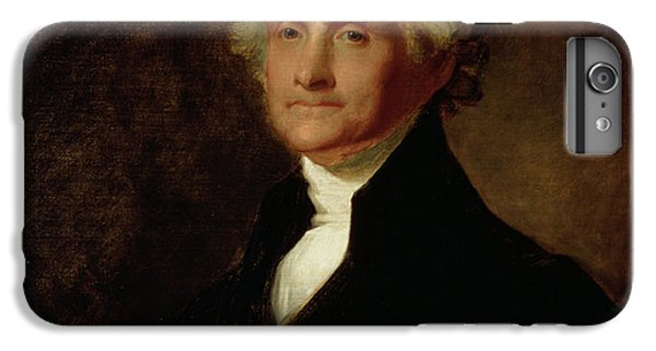 Portrait Of Thomas Jefferson IPhone 6s Plus Case by Asher Brown Durand