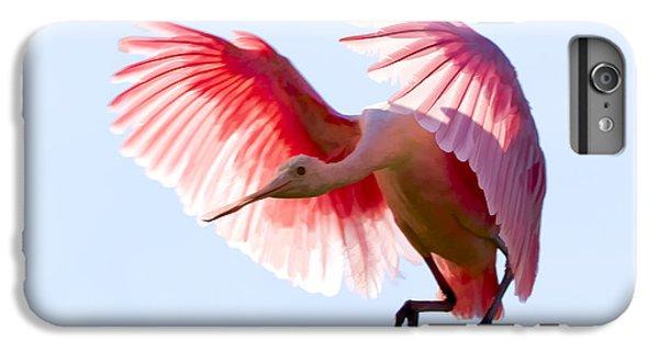 Pretty In Pink IPhone 6s Plus Case by Janet Fikar