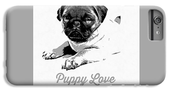 Puppy Love IPhone 6s Plus Case by Edward Fielding