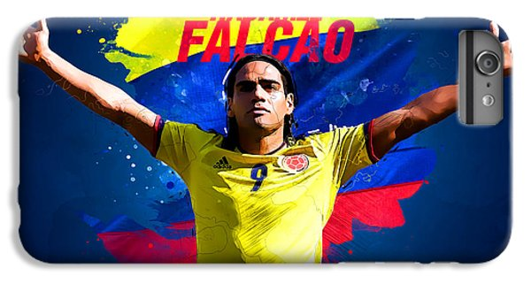 Radamel Falcao IPhone 6s Plus Case by Semih Yurdabak