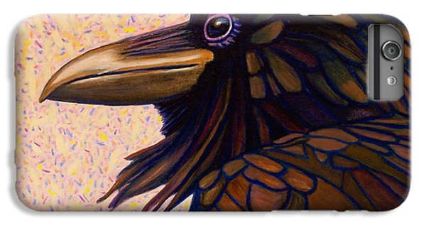 Raven Shaman IPhone 6s Plus Case by Brian  Commerford