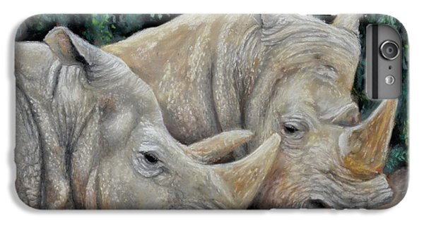 Rhinos IPhone 6s Plus Case by Sam Davis Johnson