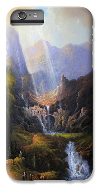 Rivendell. The Last Homely House.  IPhone 6s Plus Case by Joe Gilronan