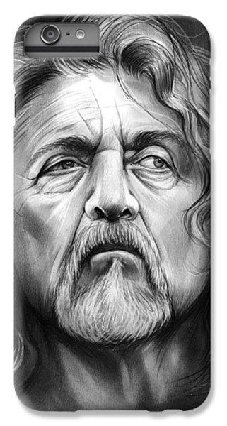 Robert Plant IPhone 6s Plus Case by Greg Joens