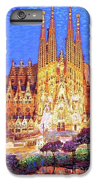 Sagrada Familia At Night IPhone 6s Plus Case by Jane Small