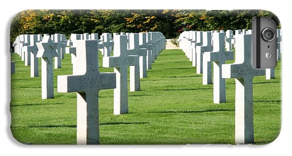 IPhone 6s Plus Case featuring the photograph Saint Mihiel American Cemetery by Travel Pics