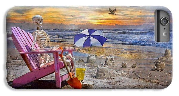 Sam's  Sandcastles IPhone 6s Plus Case by Betsy Knapp