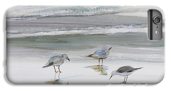 Sandpipers IPhone 6s Plus Case by Julianne Felton