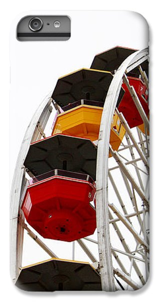 Santa Monica Pier Ferris Wheel- By Linda Woods IPhone 6s Plus Case by Linda Woods