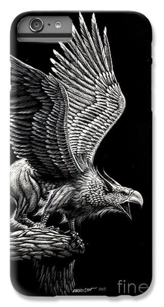Screaming Griffon IPhone 6s Plus Case by Stanley Morrison