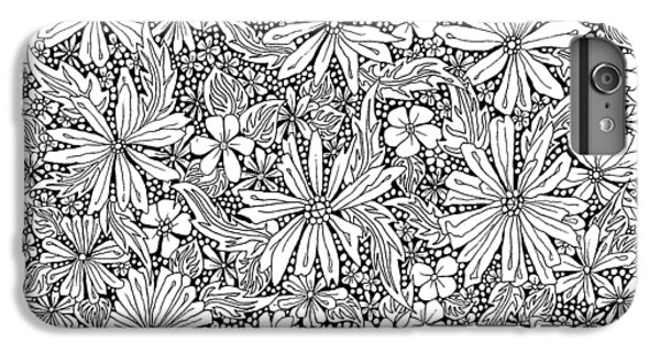 Sea Of Flowers And Seeds At Night Horizontal IPhone 6s Plus Case by Tamara Kulish