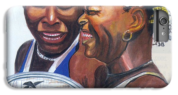 Sisters Williams IPhone 6s Plus Case by Emmanuel Baliyanga