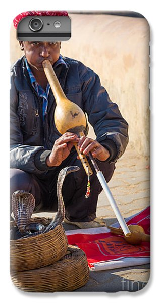 Snake Charmer IPhone 6s Plus Case by Inge Johnsson