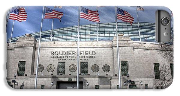 Soldier Field IPhone 6s Plus Case by David Bearden