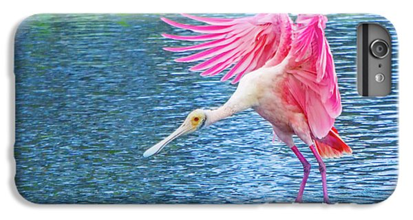 Spoonbill Splash IPhone 6s Plus Case by Mark Andrew Thomas