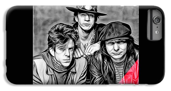 Stevie Ray Vaughan And Double Trouble Collection IPhone 6s Plus Case by Marvin Blaine