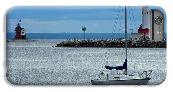 Storm Over Mackinac IPhone 6s Plus Case by Pamela Baker