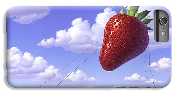 Strawberry Field IPhone 6s Plus Case by Jerry LoFaro