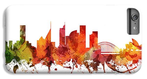 Sydney Cityscape 04 IPhone 6s Plus Case by Aged Pixel