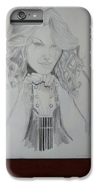 Taylor Swift IPhone 6s Plus Case by Jiyad Mohammed nasser