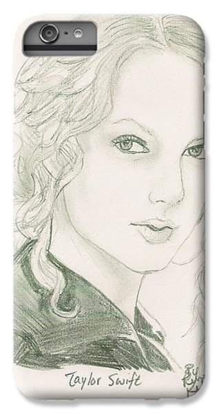 Taylor Swift IPhone 6s Plus Case by Renee Kilburn