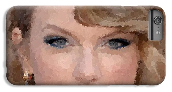 Taylor Swift IPhone 6s Plus Case by Samuel Majcen