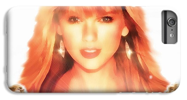 Taylor Swift - Stunning IPhone 6s Plus Case by Robert Radmore