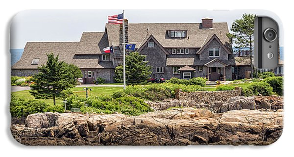 The Bush Compound Kennebunkport Maine IPhone 6s Plus Case by Brian MacLean
