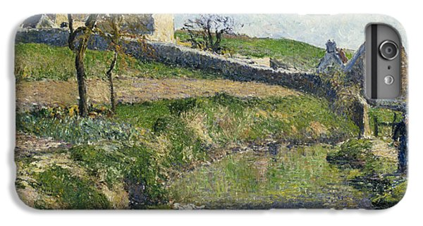 The Farm At Osny IPhone 6s Plus Case by Camille Pissarro