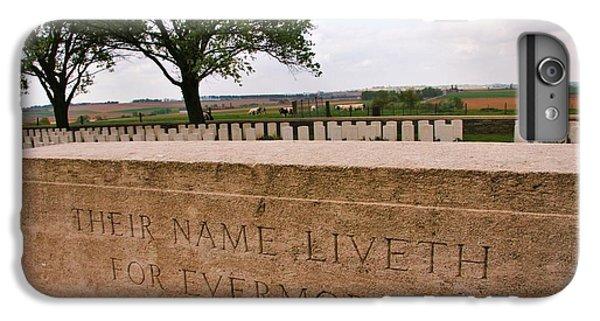 IPhone 6s Plus Case featuring the photograph Their Name Liveth For Evermore by Travel Pics