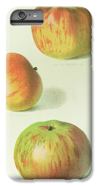Three Apples IPhone 6s Plus Case by English School