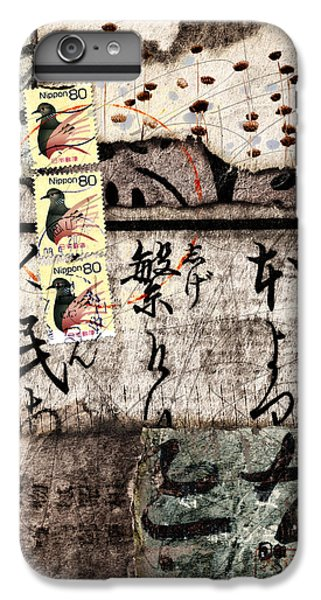Three Bird Night Collage IPhone 6s Plus Case by Carol Leigh