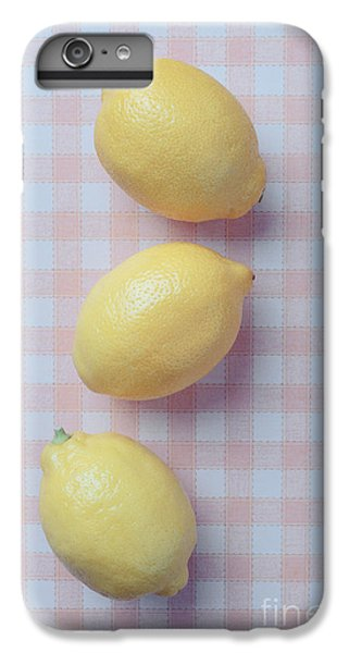 Three Lemons IPhone 6s Plus Case by Edward Fielding
