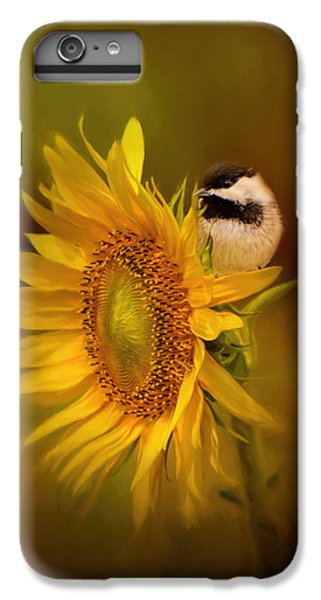 Tiny Surprise Bird Art IPhone 6s Plus Case by Jai Johnson