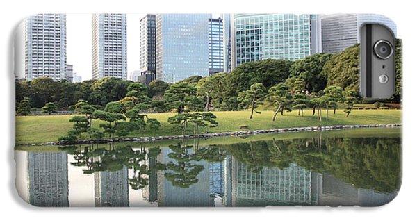Tokyo Skyline Reflection IPhone 6s Plus Case by Carol Groenen