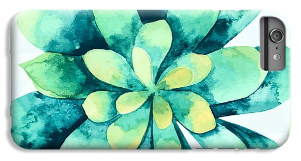 Tropical Flower  IPhone 6s Plus Case by Mark Ashkenazi