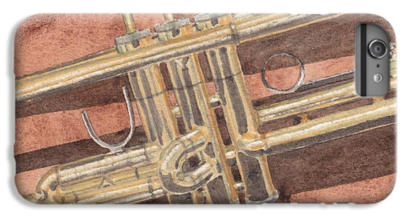 Trumpet IPhone 6s Plus Case by Ken Powers