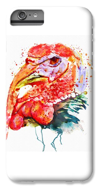 Turkey Head IPhone 6s Plus Case by Marian Voicu